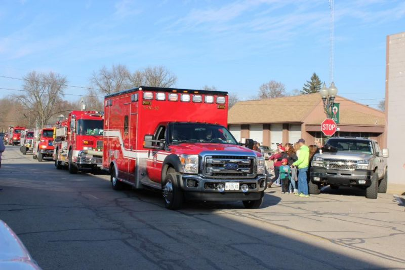 Christmas First Responders Trucks